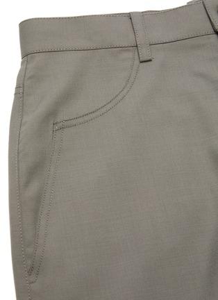 - DION LEE - Denim maxi skirt