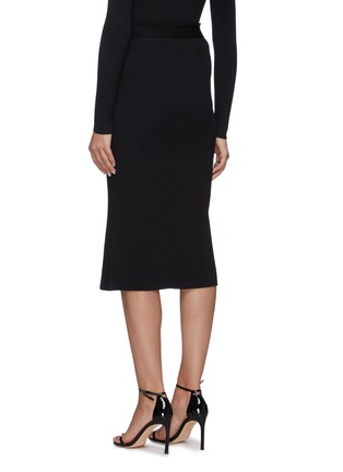 Back View - Click To Enlarge - DION LEE - Cable twist skirt