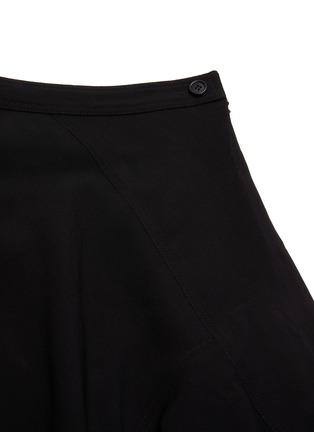 - JW ANDERSON - 'Godet' asymmetric ruffle hem skirt