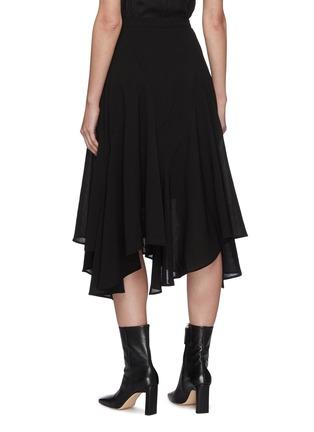 Back View - Click To Enlarge - JW ANDERSON - 'Godet' asymmetric ruffle hem skirt
