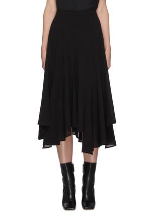 Main View - Click To Enlarge - JW ANDERSON - 'Godet' asymmetric ruffle hem skirt