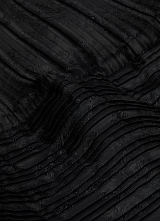 - JW ANDERSON - Bubble hem texture skirt