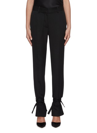 Main View - Click To Enlarge - JW ANDERSON - Tied hem suiting pants