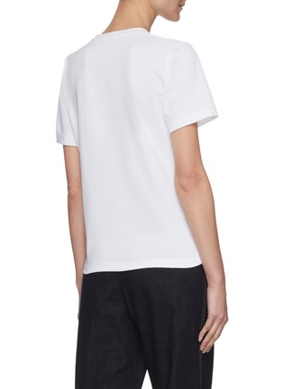 Back View - Click To Enlarge - JW ANDERSON - Logo embroidered T-shirt