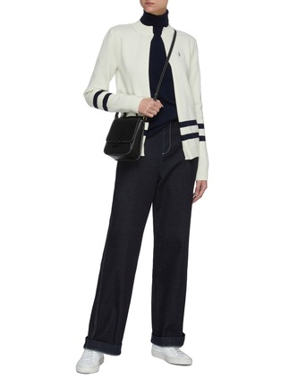 Figure View - Click To Enlarge - JW ANDERSON - Two way trompe loeuil sweater