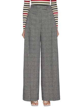 Main View - Click To Enlarge - JW ANDERSON - Checked wide leg tailored pants