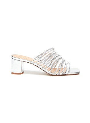 Main View - Click To Enlarge - AEYDE - 'Pearl' multi-strap block heel sandals