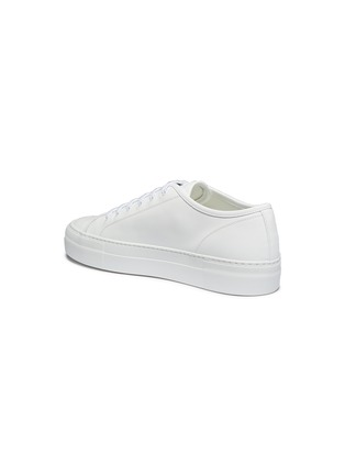 - COMMON PROJECTS - 'Tournament' low top platform leather sneakers