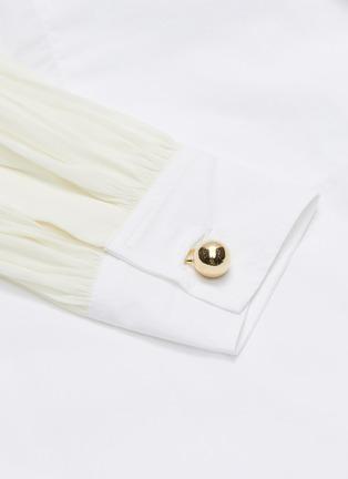 - JW ANDERSON - Panel wrap detail shirt dress