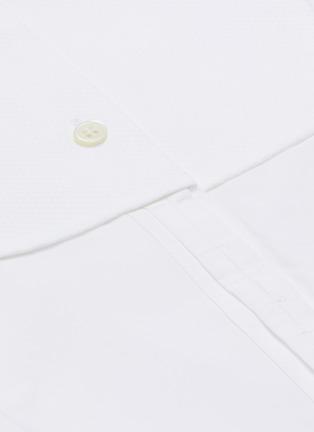 - JW ANDERSON - Bib collar cotton pique tunic