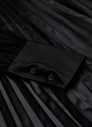- JW ANDERSON - Tie front V neck dress