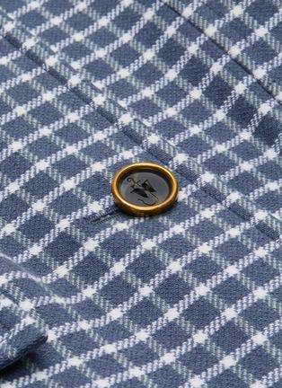 - JW ANDERSON - Fit waist check elongated blazer