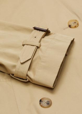 - JW ANDERSON - Bubble hem cape hybrid trench coat