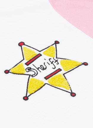 - MIRA MIKATI - Sheriff star embroidered T-shirt
