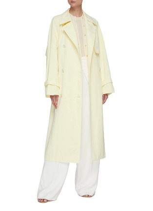 Figure View - Click To Enlarge - THE ROW - 'Kereem' belted trench coat