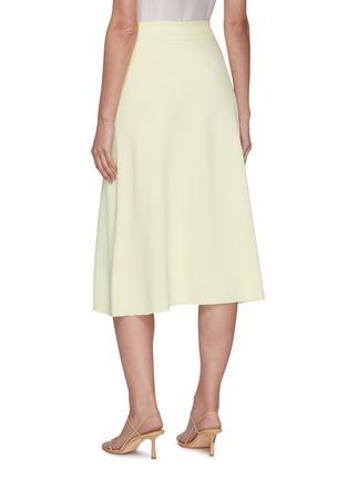 Back View - Click To Enlarge - THE ROW - 'Araceli' high waist midi skirt