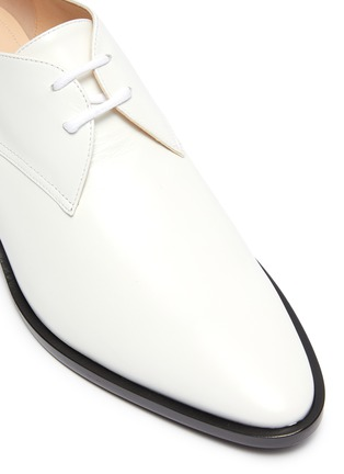 Detail View - Click To Enlarge - NICHOLAS KIRKWOOD - 'Casati' lace up leather Derby shoes