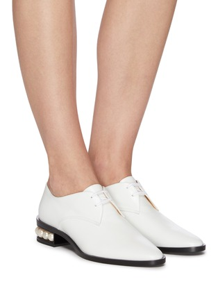 Figure View - Click To Enlarge - NICHOLAS KIRKWOOD - 'Casati' lace up leather Derby shoes