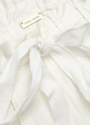 - CULT GAIA - Sistra paperbag waist pleated midi skirt
