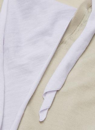 - TOGA ARCHIVES - Neck tie layer gauge knit V-neck sweater