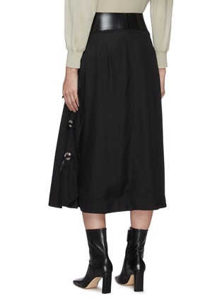 Back View - Click To Enlarge - TOGA ARCHIVES - Belted midi skirt