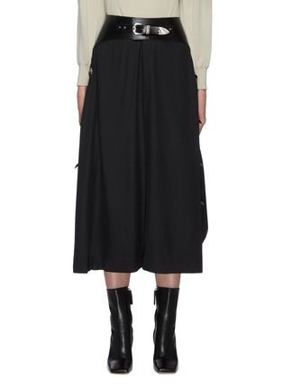 Main View - Click To Enlarge - TOGA ARCHIVES - Belted midi skirt