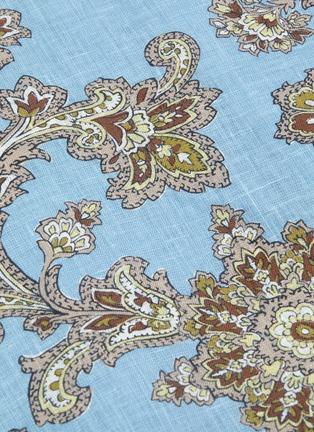 - ZIMMERMANN - 'Fiesta' ruffle square neck paisley print mini dress