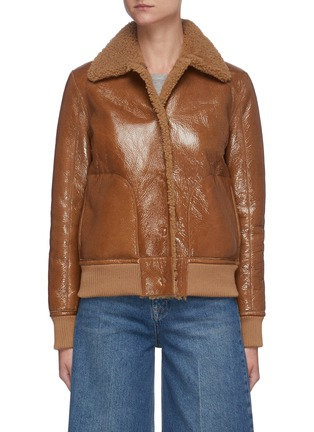 Main View - Click To Enlarge - REMAIN - 'Perla' shearling leather jacket