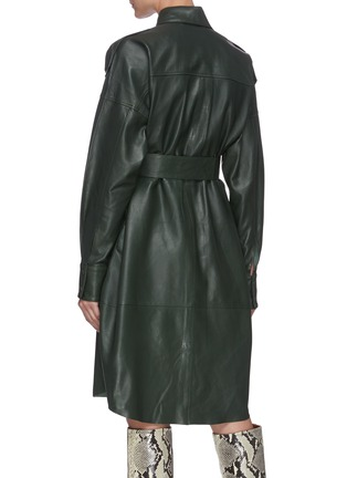 Back View - Click To Enlarge - REMAIN - 'Lavare' belted leather dress