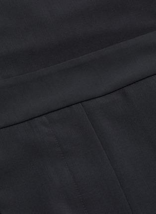 - TIBI - Overall wool blend skirt