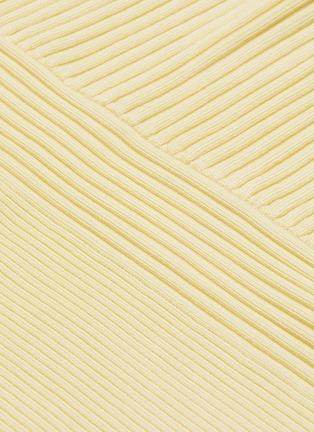- JONATHAN SIMKHAI - 'Charlie' panel rib knit top