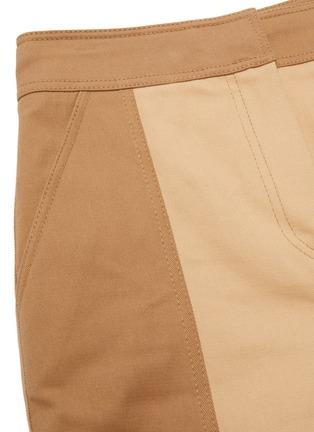 - JONATHAN SIMKHAI - 'Marley' Two Tone Cotton Pants