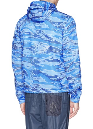 Back View - Click To Enlarge - MONCLER - 'Gobert' camouflage mesh reversible jacket