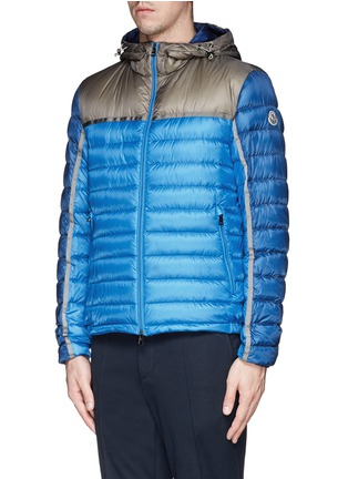 Front View - Click To Enlarge - Moncler - 'Arsenal' hooded down jacket