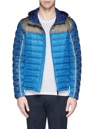 Main View - Click To Enlarge - Moncler - 'Arsenal' hooded down jacket