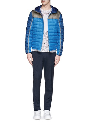 Figure View - Click To Enlarge - Moncler - 'Arsenal' hooded down jacket