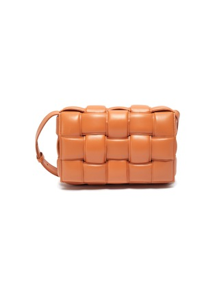Main View - Click To Enlarge - BOTTEGA VENETA - 'CASSETTE' INTRECCIATO LEATHER BAG