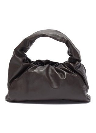 Main View - Click To Enlarge - BOTTEGA VENETA - The Shoulder' gathered leather small pouch bag