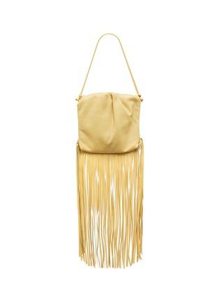 Main View - Click To Enlarge - BOTTEGA VENETA - Fringe leather crossbody bag