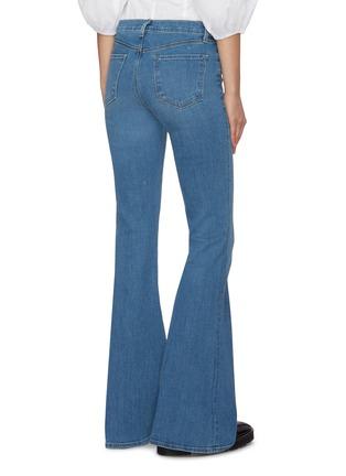 Back View - Click To Enlarge - J BRAND - 'Valentina' medium wash flare jeans