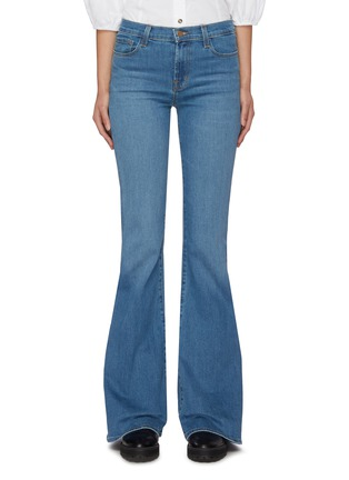 Main View - Click To Enlarge - J BRAND - 'Valentina' medium wash flare jeans
