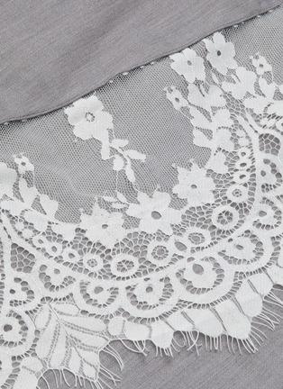 - JONATHAN LIANG - Mia lace detail midi skirt