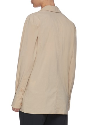 Back View - Click To Enlarge - LOW CLASSIC - Layered collar shirt