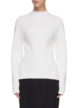 Main View - Click To Enlarge - LOW CLASSIC - Whole garment sweater