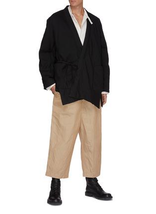 Figure View - Click To Enlarge - ZIGGY CHEN - Kimono-style Jacket