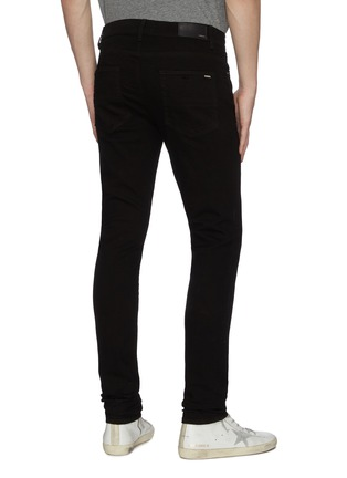 Back View - Click To Enlarge - AMIRI - Stacked dark wash slim fit jeans