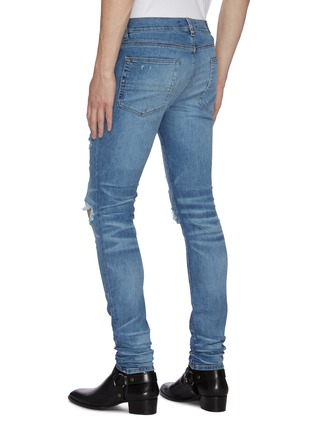 Back View - Click To Enlarge - AMIRI - Thrasher Plus' distressed skinny jeans