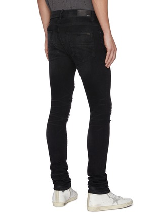 Back View - Click To Enlarge - AMIRI - 'Thrasher Plus' distressed skinny jeans
