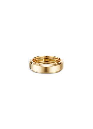 Detail View - Click To Enlarge - DAVID YURMAN - 'Beveled' 18k gold ring