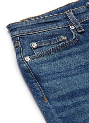 - RAG & BONE/JEAN - 'Cate' asymmetric raw hem crop skinny jeans